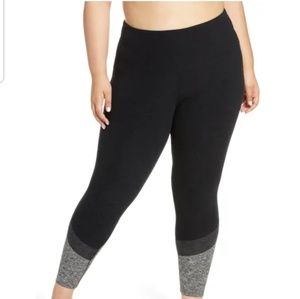 Beyond Yoga  High Waist Color Block Leggings